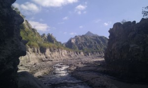 Flussbett zum Pinatubo