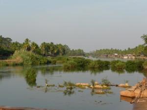 Landschaft um Si Phan Don
