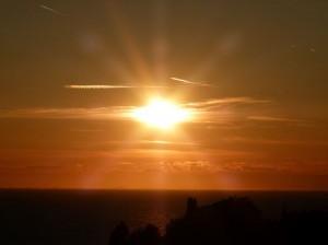 Sonnenuntergang in Piran