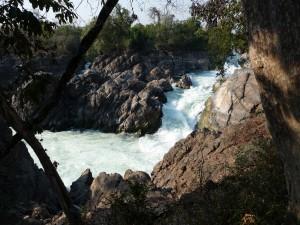 Wasserfall auf Don Khong