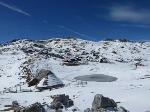 Winter auf der Velikan Planina
