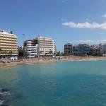 Playa de Las Canteras, der Stadtstrand von Las Palmas