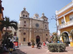 Die Kriche San Pedro Claver in der Altstadt