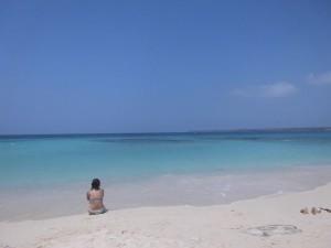 Playa Blanca auf den Rosario Inseln