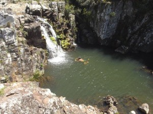 Sierras Minas Wasserfall