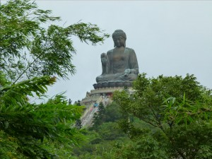 Bronze buddha Hong kong