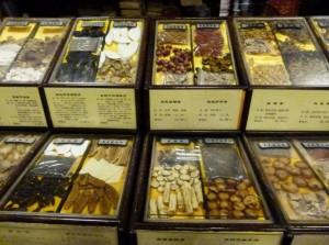 Theke der Apotheke Hangzhou