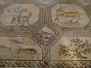 Bodenmosaike Aquileia Italien