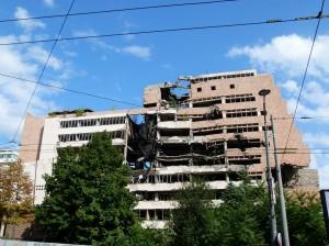 Ruine Generalstab Belgrad