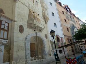 bemaltes Haus Belgrad