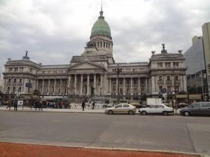 Casa Rosada Präsidentenpalast an der zentralen Plaza de Mayo