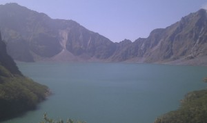 Kratersee des Pinatubo