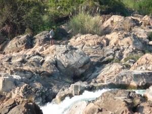 Li Phi Wasserfaelle auf Don Khone