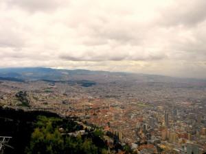 Ausblick auf die Stadt vom Andengipfel Monserrate