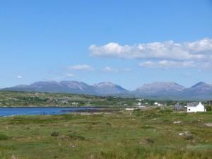 Connemara-Landschaftsbild