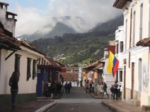 Das historische Zentrum La Candelaria