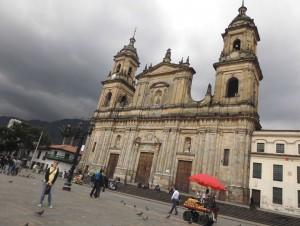 Die Kathedrale von Bogota