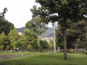 Ein Park im Norden der Stadt