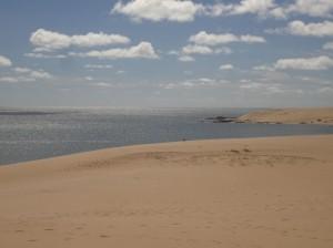 Endlose Sandstraende