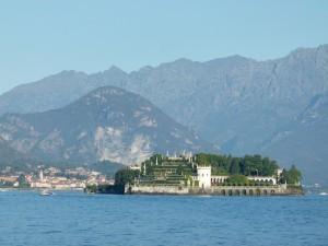 Lago Maggiore mit Isola Bella
