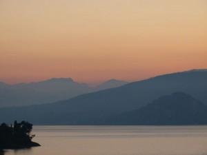 Morgenstimmung am Lago Maggiore