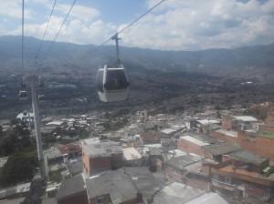 Die Seilbahn von Medellin