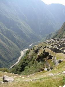 Machu Picchu Peru vom Huayna Picchu