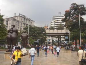 Plaza Botero im Zentrum