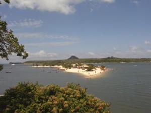 Blick auf die Ilha do Amor