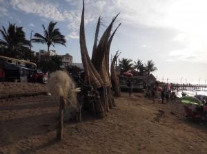 Caballitos de Totora die traditionsreichen Fischerboote