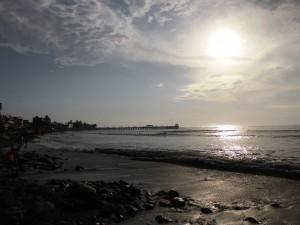 Der Strand von Huanchaco