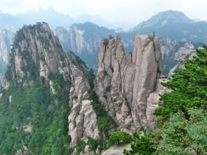 Felsendome Huang Shan