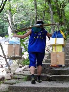 Lastentraeger Huang Shan