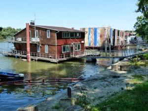 Hausboote Belgrad