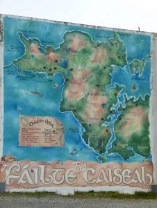 Karte Achill Island