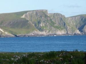 Klippen Achill Island