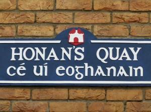 Limerick Strassenschild