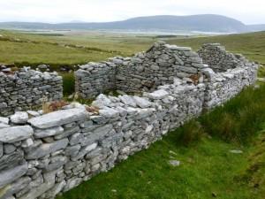Verlassenes Dorf Achill Island