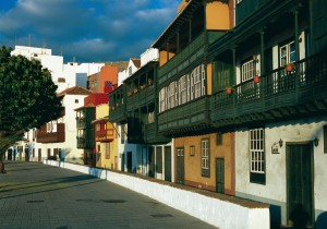 Die Hauptstadt Santa Cruz de La Palma