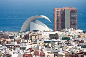 Die Hauptstadt Santa Cruz de Tenerife