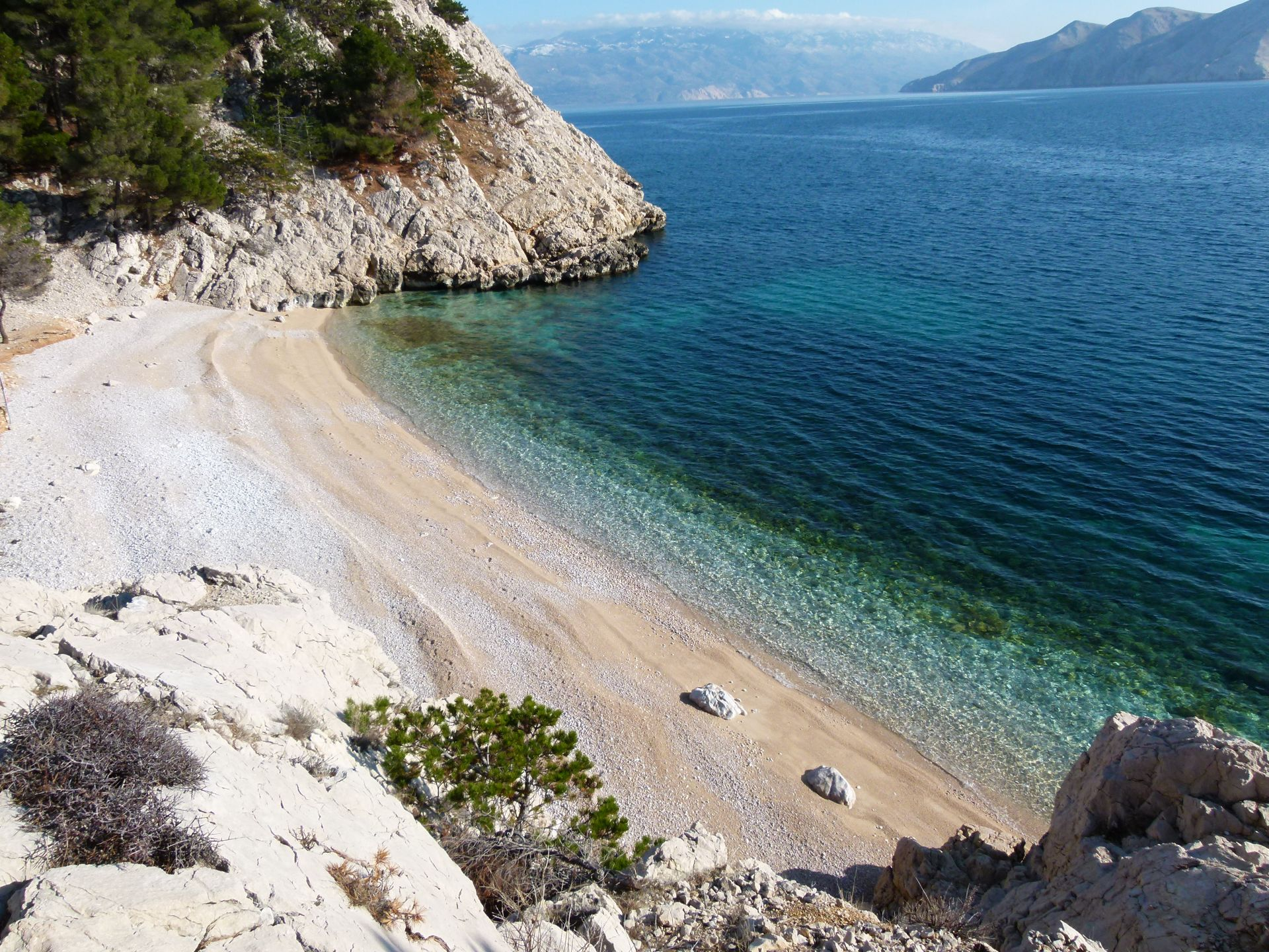 Insel Krk Bucht
