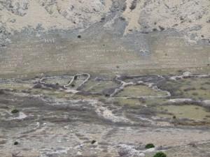 KrK Zeichnungen auf Felsen
